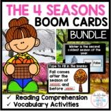 The 4 Seasons BOOM Cards (digital task cards) BUNDLE!