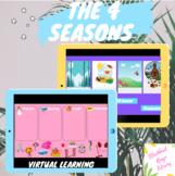The 4 Seasons Digital Virtual Learning Activity (Google Slides)