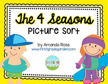 The 4 Seasons Picture Sort