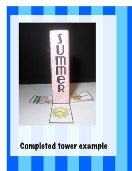 The 4 Seasons Science Interactive Tower Foldable