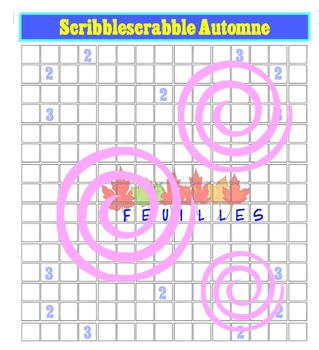The 4 Seasons Scribblescrabbles (in English, French, Spanish and . . . )