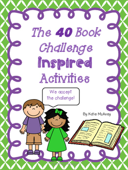 The 40 Book Challenge Inspired Activities