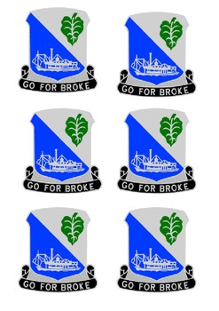 The 442nd Regimental Combat Team Handout