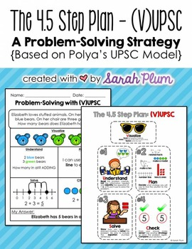 A UPSC-Based Problem Solving Strategy {The 4 (.5) Step Plan}