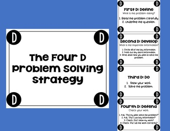 The 4D Problem Solving Strategy