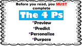 Reading Strategies for Success! The 4Ps!