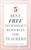 The 5 Best Free Technology Resources for Teachers