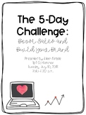 The 5-Day Challenge: Tips and Tricks for Boosting Sales and Building Your Brand
