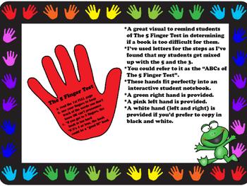 The 5 Finger Test