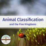 Animal Classification and the 5 Kingdoms - Biology Video Guide Worksheet