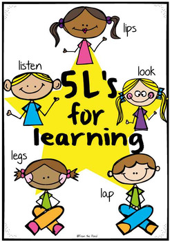 Classroom Listening {The 5 Ls of Learning} Packet