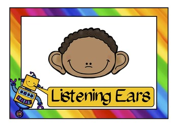 The 5 Ls of Listening Posters Freebie