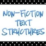 The 5 Nonfiction Text Structures...a video collection