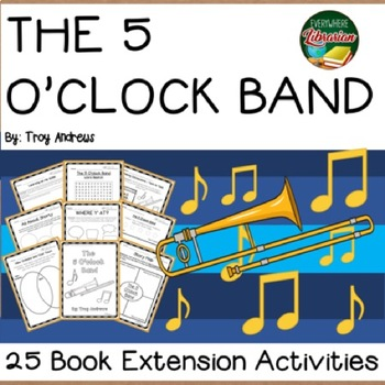 The 5 O'Clock Band by Troy Trombone Shorty Andrews 25 Extension Activities