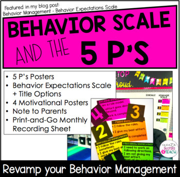 The 5 P's and Behavior Expectations Scale