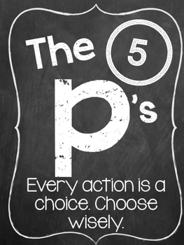 The 5 P's to Live By