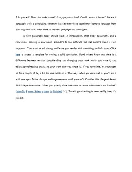 """The 5 Paragraph Essay: An ULTIMATE Interactive """"How To"""" Guide."""