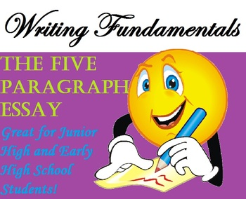 The 5 Paragraph Essay and Writer's Workshop! (Common Core-