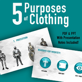 The 5 Purposes of Clothing