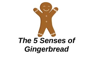 The 5 Senses Of Gingerbread Book