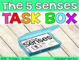 The 5 Senses Task Box {individual task box}