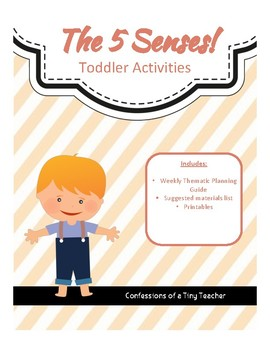 The 5 Senses! {Toddler Activities}