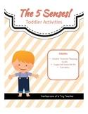 The 5 Senses! {Toddler Activities}