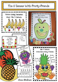 The 5 Senses With Fruity Friends