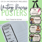 The 5-Step Writing Process Posters