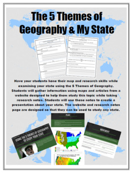 The 5 Themes of Geography and My State