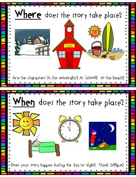 The 5 W's: Posters and Retelling Sticks