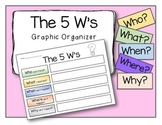 Graphic Organizer - The 5 W's