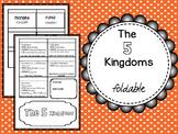 The 5 kingdoms Foldable