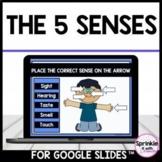 The 5 senses-Google Slides™️-Distance Learning