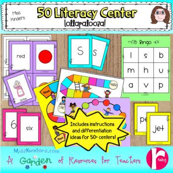 Miss Kinders 50 Literacy Center Lollapalooza!