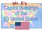 The 50 State Capitals and Capitol Buildings