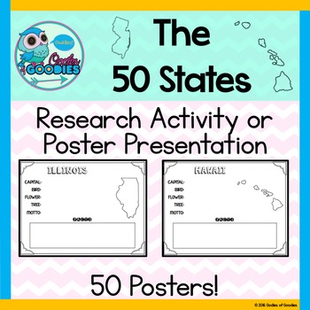 States Presentation / Research Posters