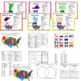 The 50 States: fact posters, worksheets, journal