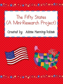 The 50 States of the USA {A Mini Research Project}