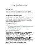 The 504 Plan: FAQs for Teachers