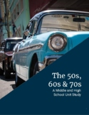 The 50s, 60s, and 70s