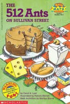 The 512 Ants on Sullivan Street-Comprehension Worksheet