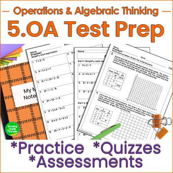 Operations and Algebraic Thinking 5th Grade
