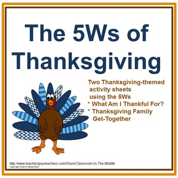 The 5Ws of Thanksgiving
