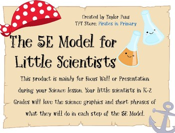The 5e Model for Little Scientists