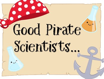 Pirate Themed The 5e Model for Little Scientists
