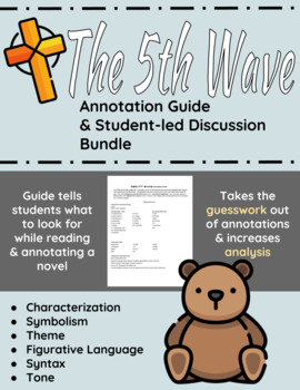 The 5th Wave Annotation Guide and Student-led Discussion Bundle