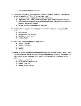 The Last Star Quiz Ch. 1-4