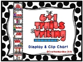 The 6 + 1 Traits of Writing Displays & Clip Chart