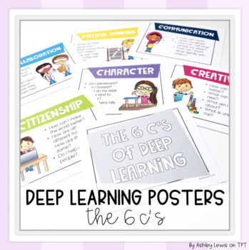 The 6 C's of Deep Learning STEAM Posters